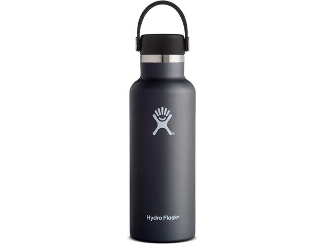 Hydro Flask Standard Mouth Flex Bottle 532ml black